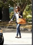 Eva Longoria meets up with Desperate Housewives costar Marcia Cross.