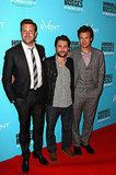 Jason Sudeikis, Charlie Day and Jason Bateman