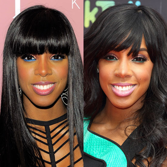 Kelly Rowland's Bottom Eyeliner Look