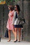 Pippa and Carole Middleton in London.