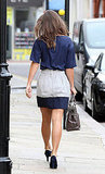 Pippa Middleton heads to work in London.