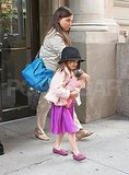 Suri Cruise in a hat.
