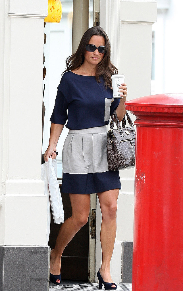 Pippa Middleton gets Starbucks.