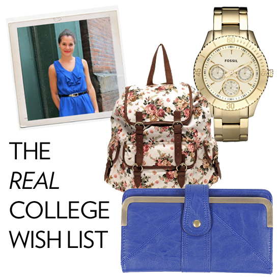 Back-to-School Shopping Wish List