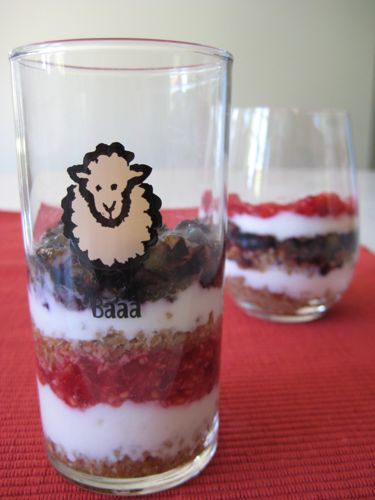 Red, White, &amp; Blue Parfaits