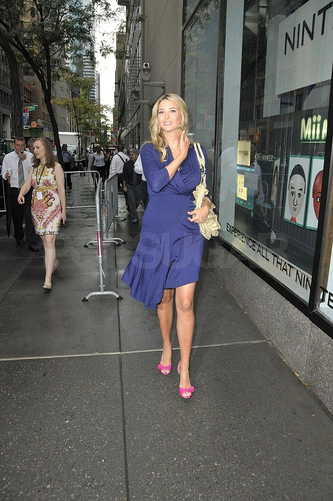 Ivanka Trump at the Today Show.