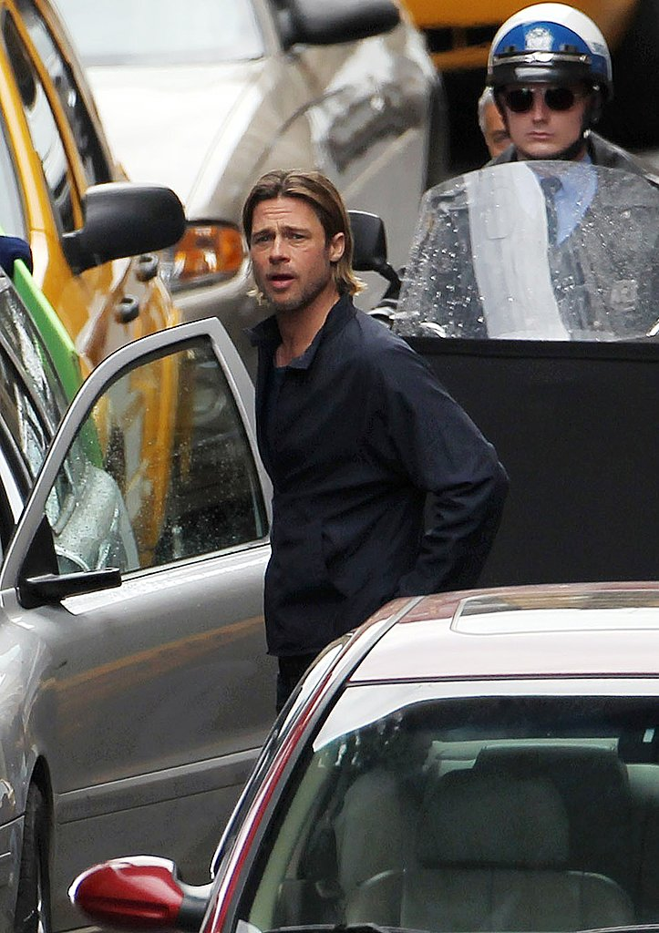 Brad Pitt for World War Z.