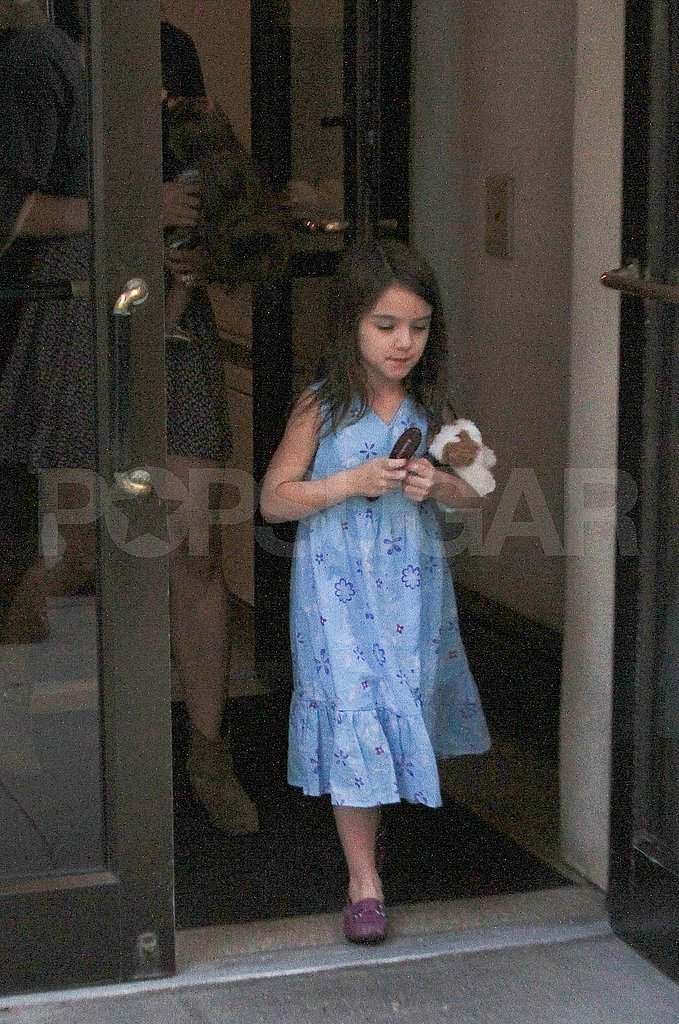 Katie Holmes and Suri Cruise together.