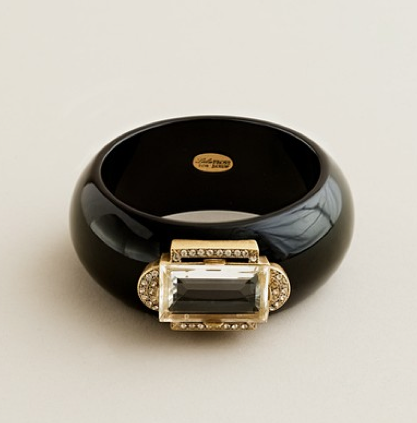 Lulu Frost for J.Crew Wide Deco Bangle ($118)