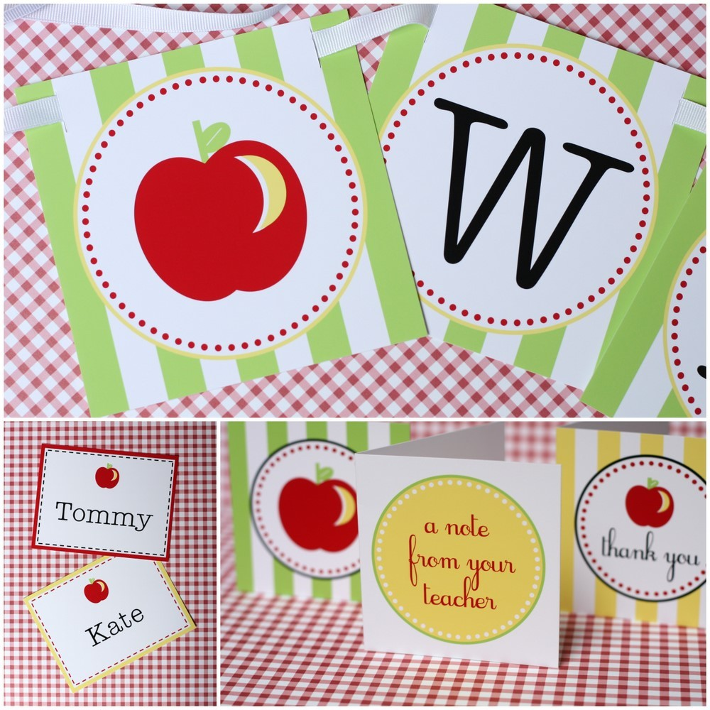 More Back-to-School Printables ($13)