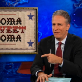 Jon Stewart Criticizes Obama Over Gay Marriage