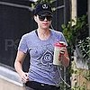 Pictures of Scarlett Johansson Leaving the Gym in NYC
