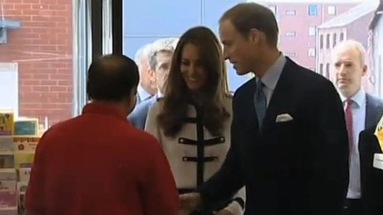 Video: Kate Middleton and Prince William Pay a Royal Visit to Riot Site