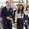 Kate Middleton Pictures Visiting the Summerfield Community Center