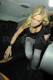 Chelsy Davy in a tank top.