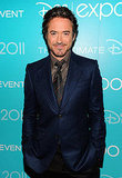 Robert Downey Jr. buttoned up for the event.