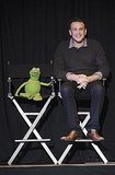 Jason Segel and Kermit the Frog teamed up to give fans an early look at The Muppets.