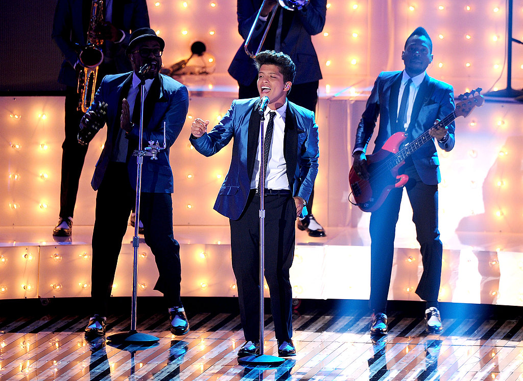 Bruno Mars at the 2011 MTV VMAs.
