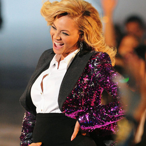 Photos de Beyonce Knowles enceinte aux VMA Awards