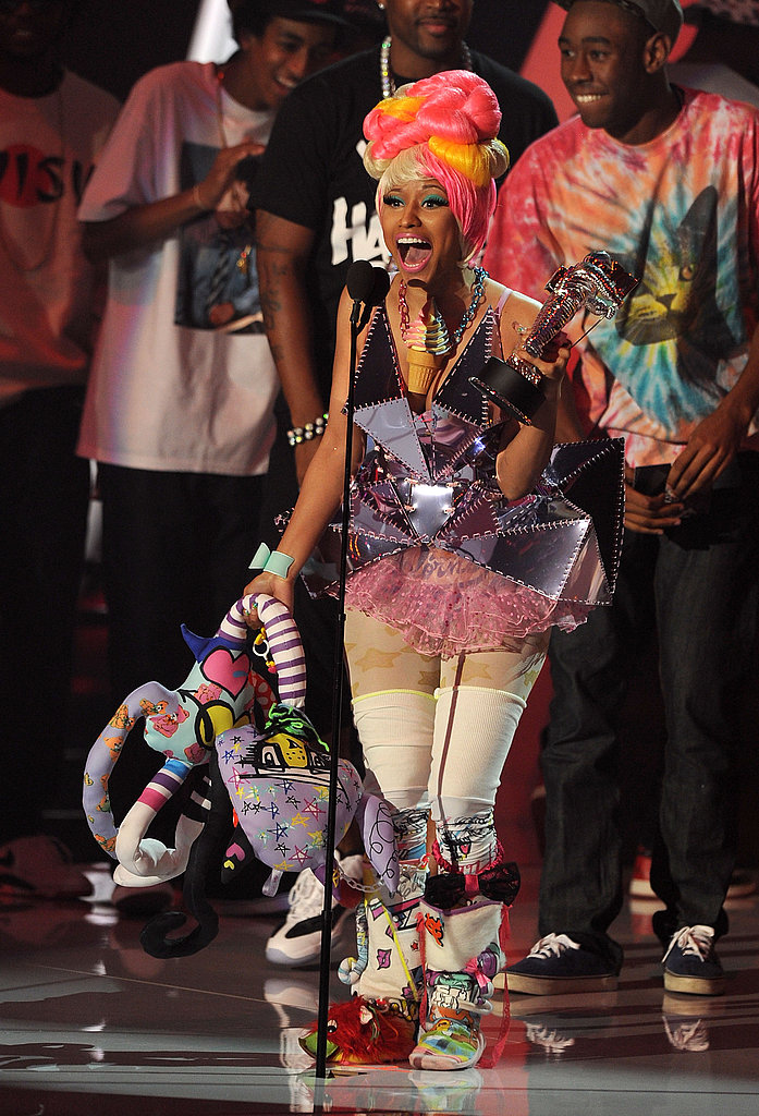 Nicki Minaj at the 2011 MTV VMAs.