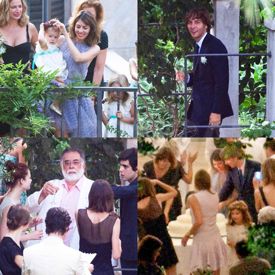 New Photos From Sofia Coppola and Thomas Mars's Romantic Italian Wedding!