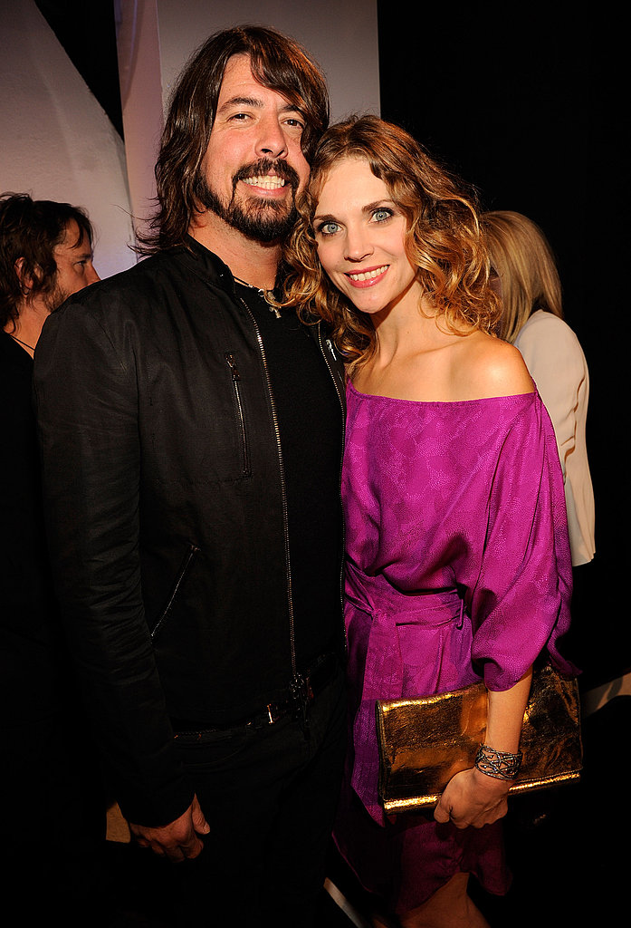 Foo Fighters' Dave Grohl and wife, Jordyn Blum, arrived at the show.