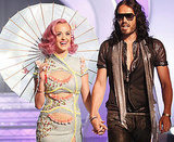 Katy Perry and her husband, Russell Brand, headed into the show together.