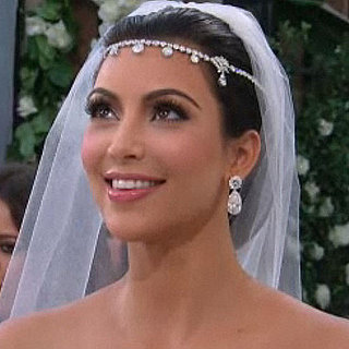 Watch Kim Kardashian's Fairy Tale Wedding Tonight and Scope Her Wedding Hair, Veil and Headpiece