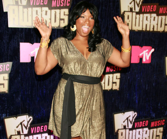 Jennifer Hudson glittered on the red carpet in 2007.