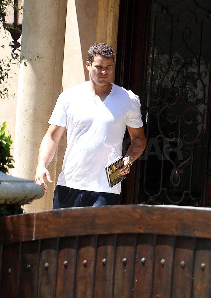 Kris Humphries carried a book running errands around LA.