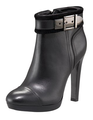 Tory Burch Belinda Buckle Ankle Bootie ($395)
