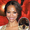 Get Zoe Saldana's Hairstyle From the Colombiana Premiere 2011-08-23 10:13:43