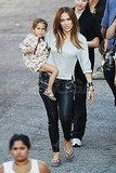 Jennifer Lopez Has Max and Emme Along For a Day of Filming in LA