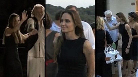Video: Angelina Jolie, Maddox, and Pax Travel to Croatia For a Humanitarian Mission