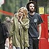 Tom Sturridge, Sienna Miller Leave Lunch in London Pictures
