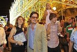 Sofia Coppola, Roman Coppola, Romy Mars, and Thomas Mars stepped out in Italy.
