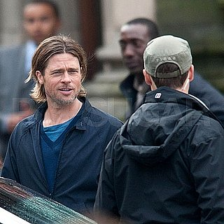 Brad Pitt Filming Explosion Scenes For World War Z Pictures