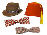 Wear: Bow Tie, Fez, or Stetson