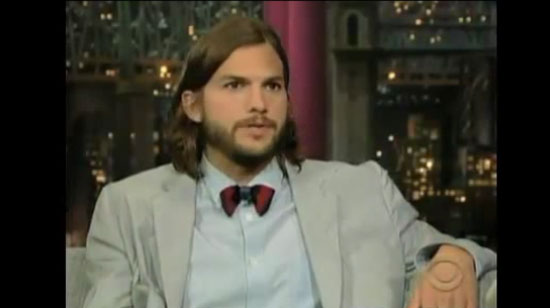 "Video: Ashton Kutcher ""Didn't Want to Be a Troll"" When Offered Two and a Half Men"