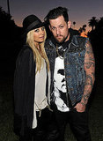 Nicole Richie and Joel Madden at event in LA.
