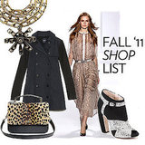 Fab's Fall Shopping List!