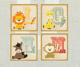 Alphabet Animals ($18 Each)