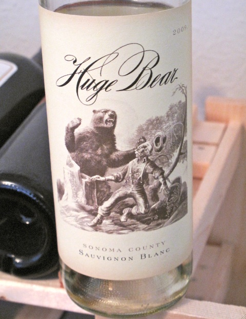 2009 Huge Bear Sauvignon Blanc