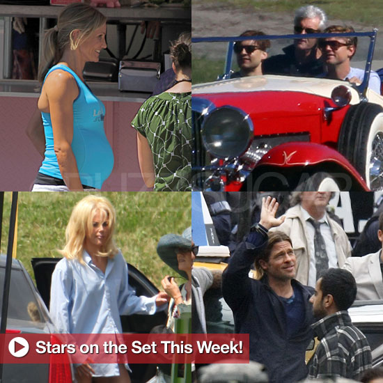 Leonardo DiCaprio, Cameron Diaz, Brad Pitt, and More Stars on Set This Week!