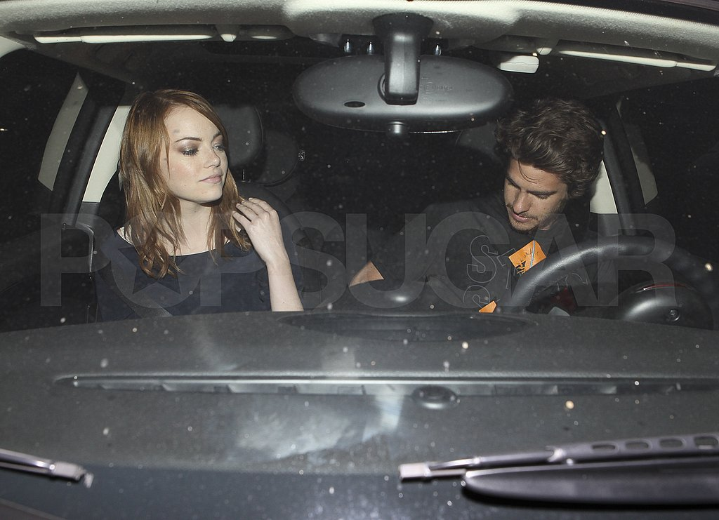 Andrew and Emma put on their seatbelts.