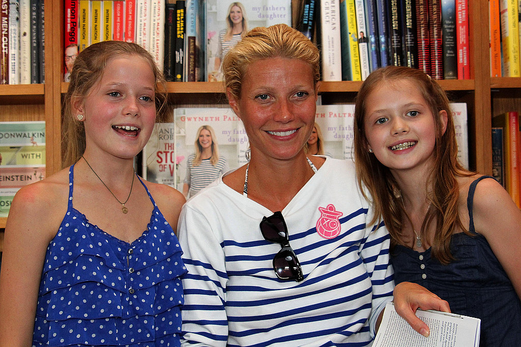 Gwyneth Paltrow posed with some of her youngest fans.