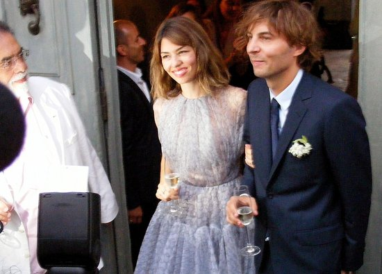 See Sofia Coppola and Thomas Mars's First Wedding Photo!