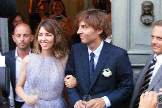 See Full-Length Images of Sofia Coppola's Lilac Alaia Wedding Dress