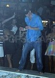 Prince Harry dances at an open-air nightclub in Hvar, Croatia.  TADIC/CROPIX/SIPA