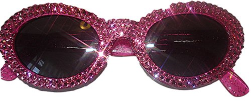 Hot Pink Bling Sunglasses ($68)